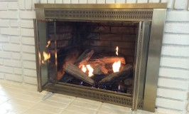 Ventless Fireplace Takes the Chill off Winter