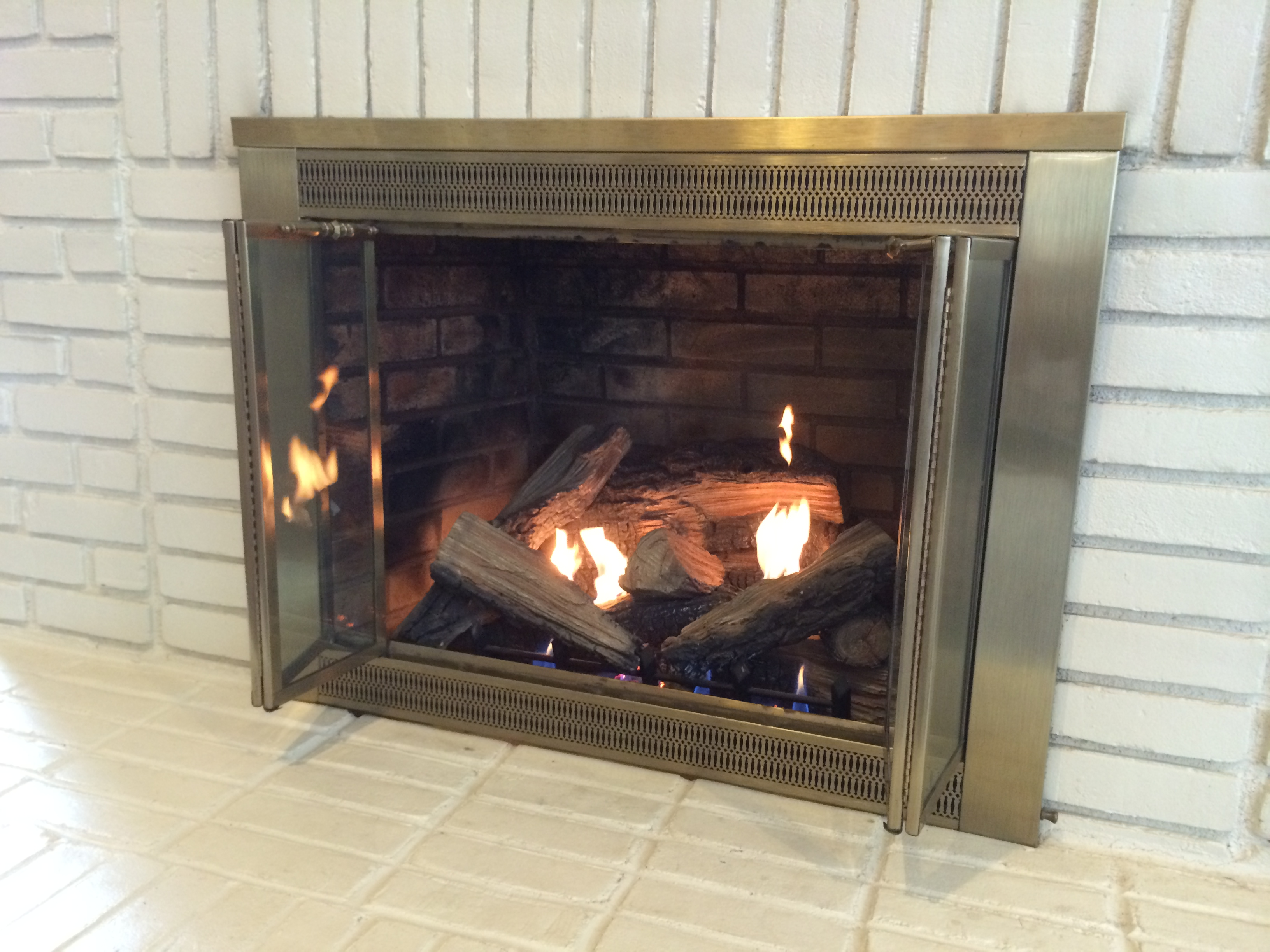 Ventless Fireplace Insert Takes The Chill Off Winter