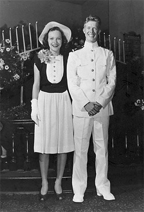 Jimmy & Rosalyn Carter's Wedding Picture