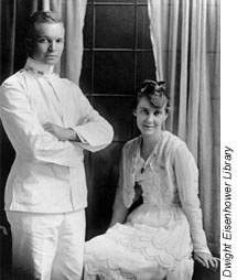 Dwight and Mamie Eisenhower's Wedding Picture