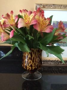 Animal Print Vase