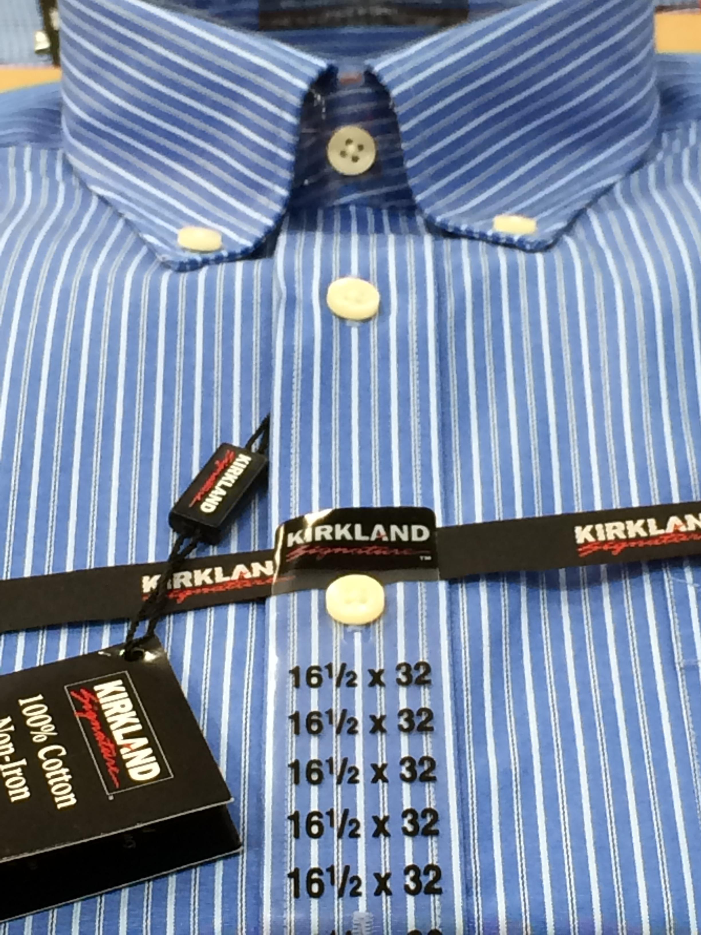 Kirkland No Iron Shirt In Blue Omg Lifestyle Blog