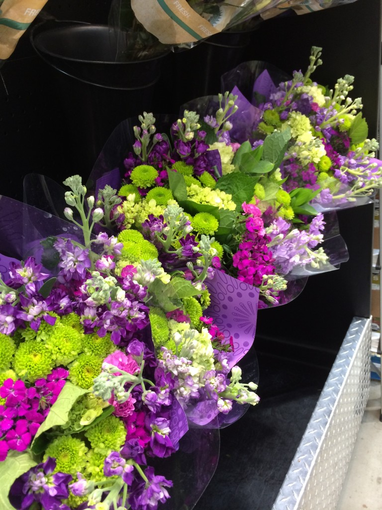 Colorful Spring Floral Boquets at Costco
