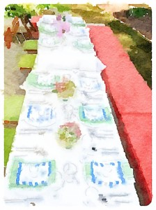 Seafood Boil Supper Club Tablescape