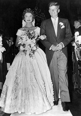 John & Jacqueline Kennedy's Wedding Picture