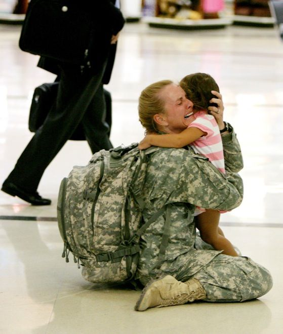 Military sacrifice love