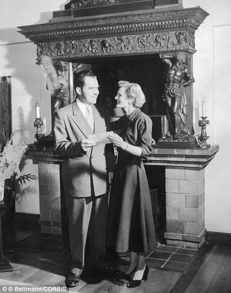 Richard & Pat Nixon's Wedding Picture