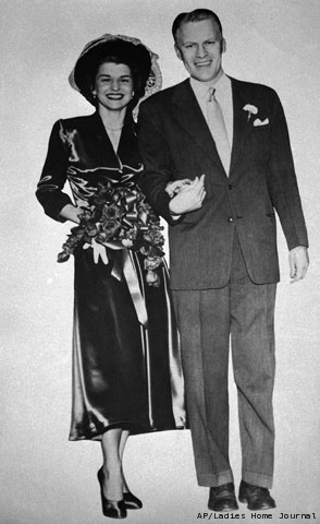 Gerald & Betty Ford's Wedding Picture