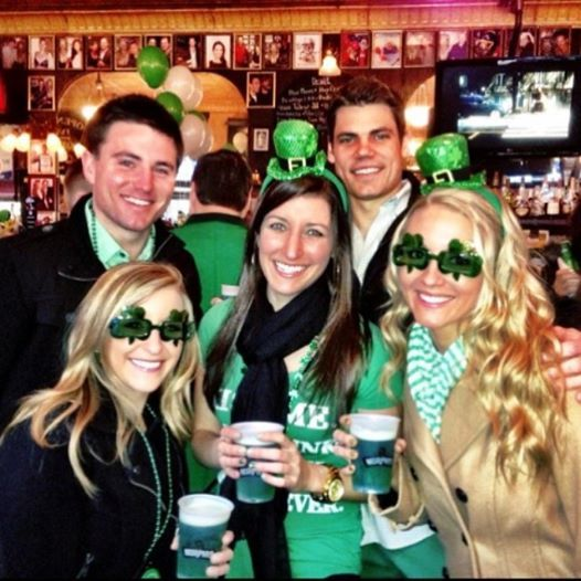 Celebrating St. Patty's Day in Chicagao