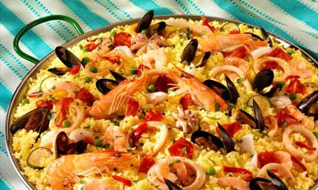 paella spanish food spain drink moorish foods cuisines dinner ethnic dish british theguardian wordofmouth lifeandstyle omglifestyle