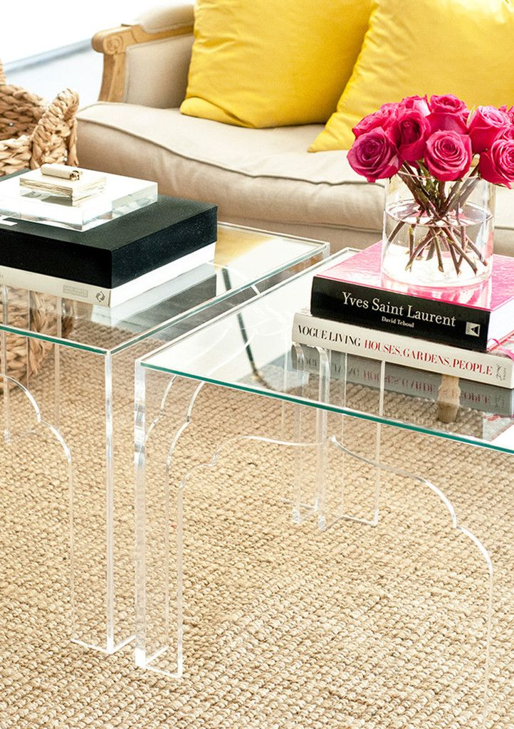 Lucite Coffee Table.Clearly Glamorous Coffee Tables Omg Lifestyle Blog