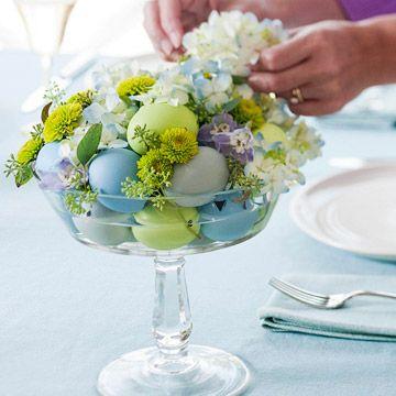 Easter Egg Floral Centerpiece