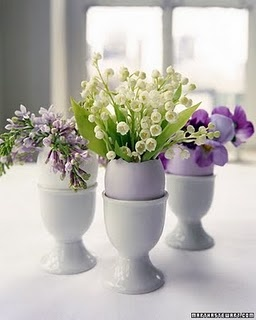 Floral Egg Cups