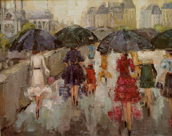 """""""Left Bank Ladies"""" by Kathryn Morris Trotter"""