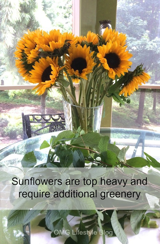 Sunflower Arrangement without Greenery