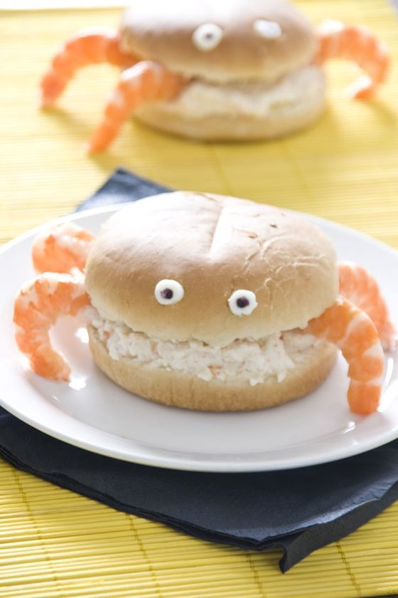 crab sandwich for kids