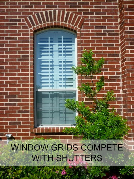 Window grids yay or nay omg lifestyle blog window grids compete with plantation shutters sisterspd