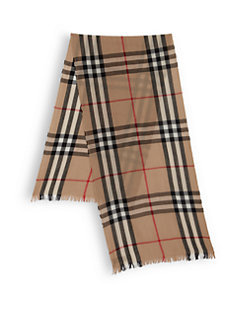 Classic Burberry Men's Scarf