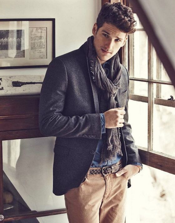 Scarves For Men Fall Fashion Trend Omg Lifestyle Blog