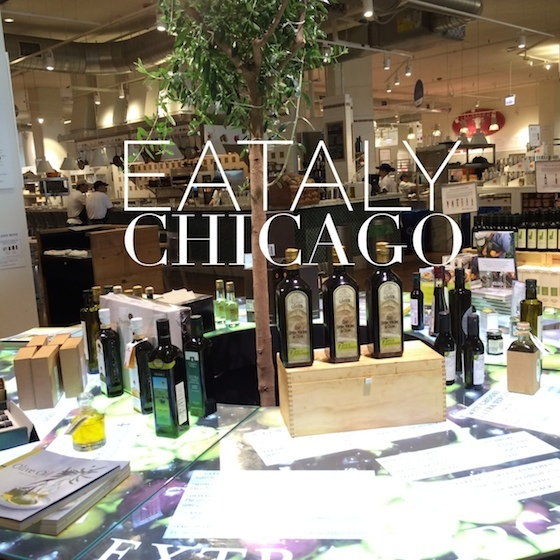 Eataly Chicago Olive Tree