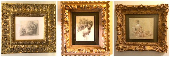Gold Framed Prints