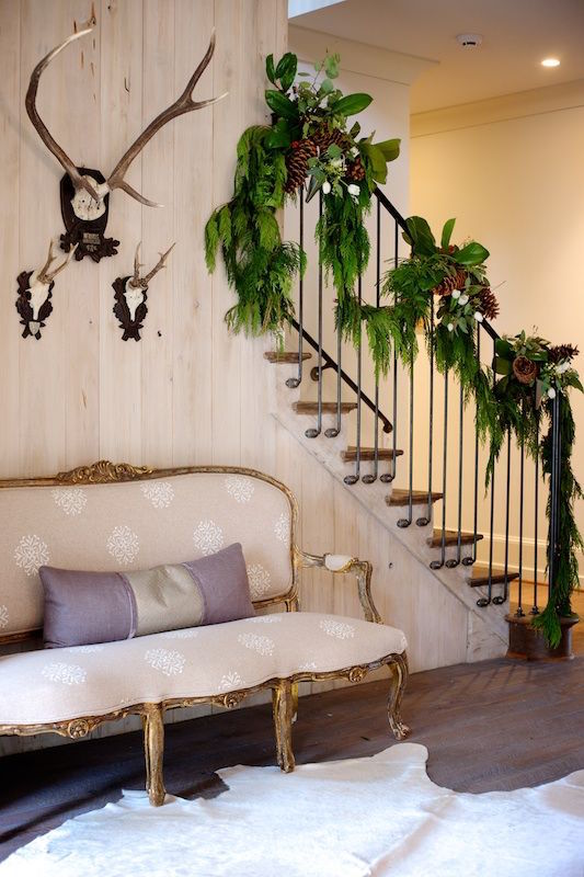 Pretty Christmas Staircases Omg Lifestyle Blog