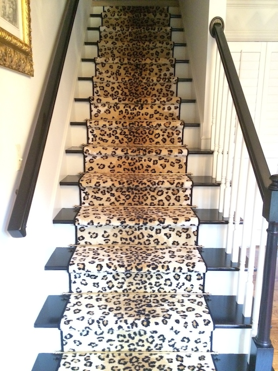Leopard Stairs