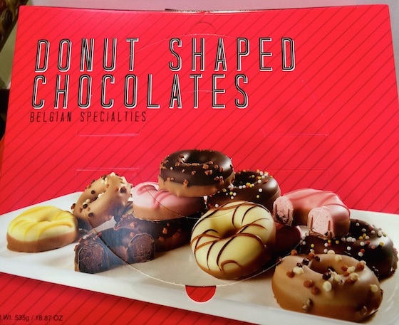 Donut Shaped Belgian Chocolates