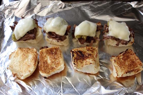 Pot Roast Melts on King's Hawaiian Sweet Rolls