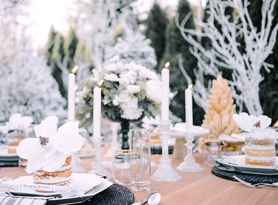 Rue Magazine New Years Eve Tablescape