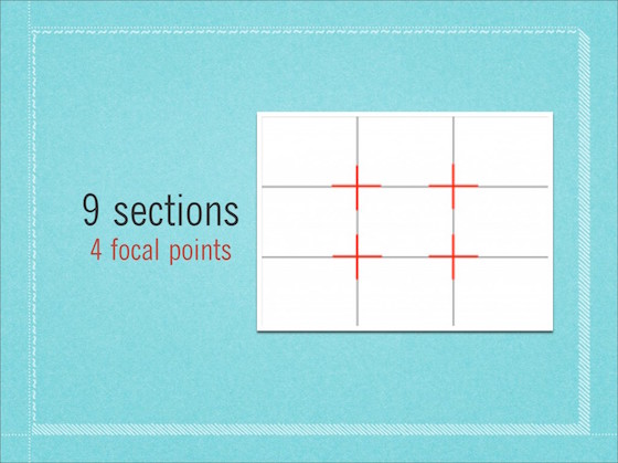 Rule-of-thirds-9-sections-4 focal points