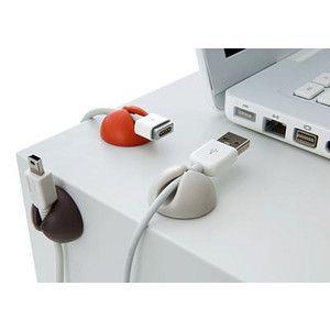 Desktop USB Cable Holder