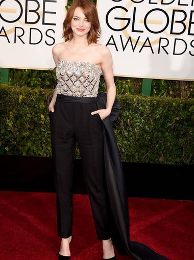 Emma Stone at Golden Globe