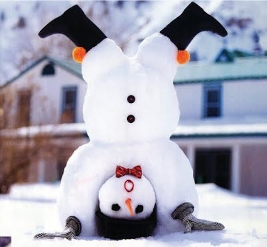 12 adorable and clever snowmen omg lifestyle blog for How to create a snowman