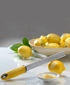 Zest Lemon with Microplane