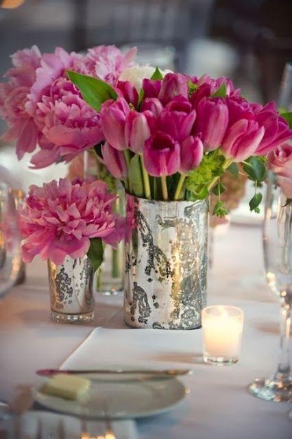 Elegant valentine 39 s day party decorations for Flower arrangements for parties
