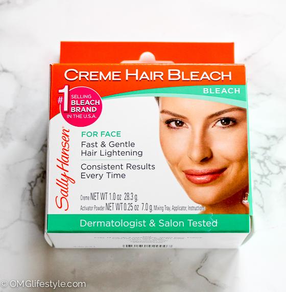 Creme Hair Bleach for Facial Hair