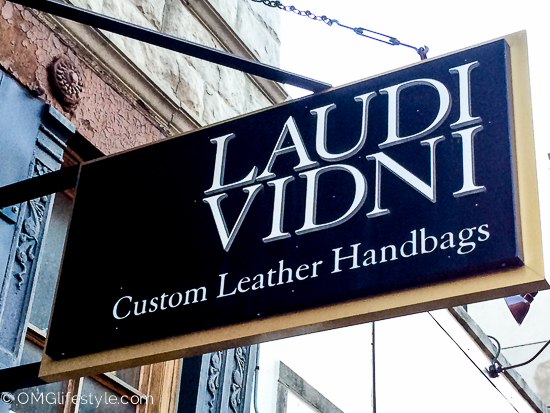 Laudi Vidni Custom Leather Handbags
