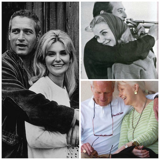 Paul Newman and Joanne Woodard