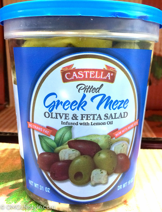 Costco Finds- Greek Olives and Feta