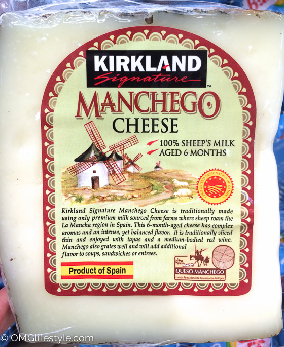 Costco Finds - Manchego Cheese