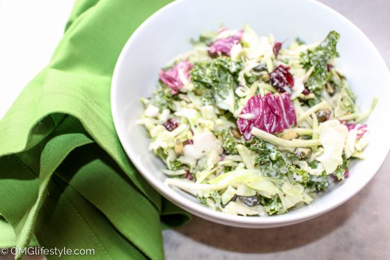 Costco Kale Slaw Salad