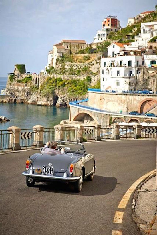 Summer Vacation Road Trip Essentials | OMG Lifestyle Blog | Photo - Amalfi Coast