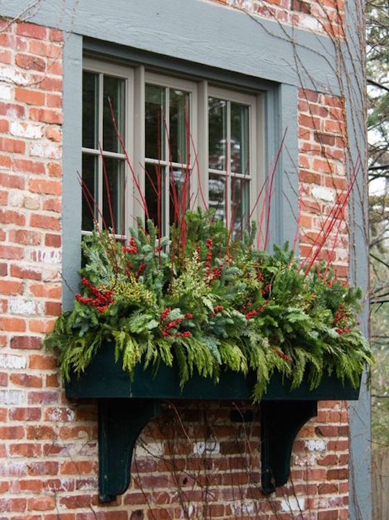 Christmas Window Box | OMG Lifestyle Blog