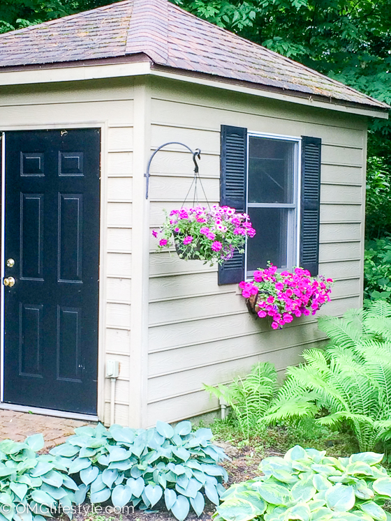 Garden Shed with Window Box | OMG Lifestyle Blog