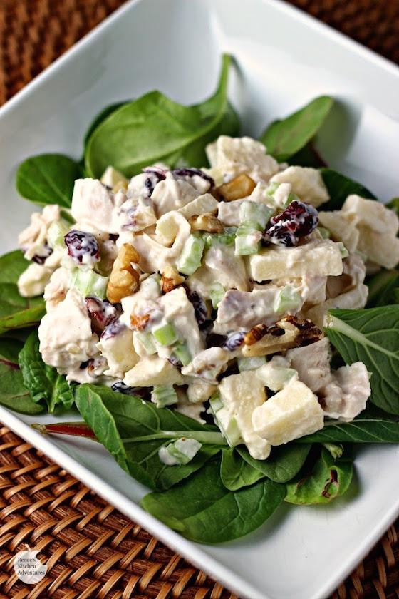 Waldorf Style Chicken Salad