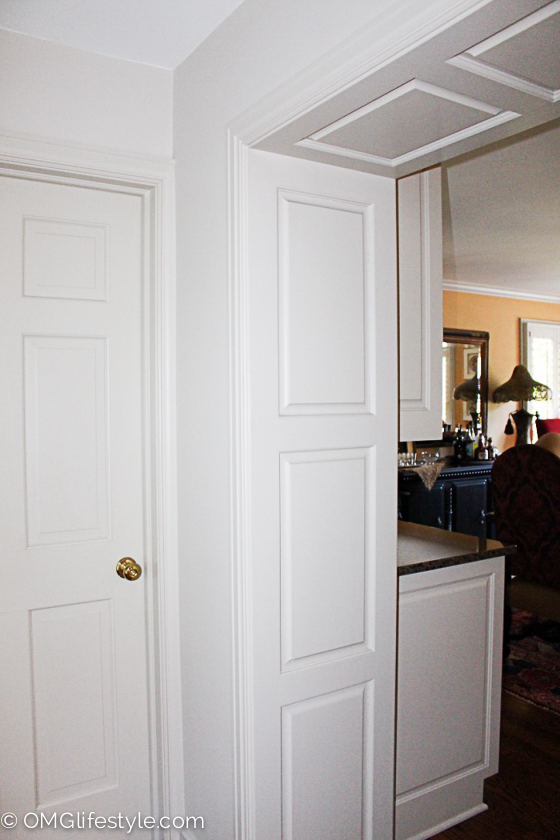 I Loved How The Builder Added The Wood Panels To The Entryways Between Two  Rooms. It Was A Nice Transition Instead Of Plain Drywall.