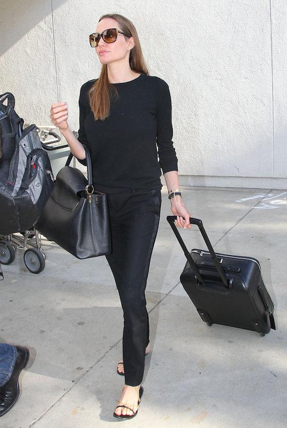 Angelina Jolie at LAX