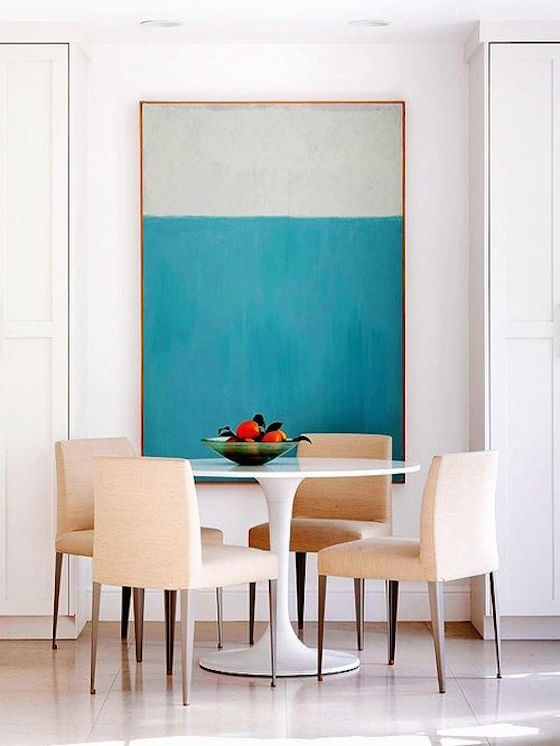 Color Block Wall Art