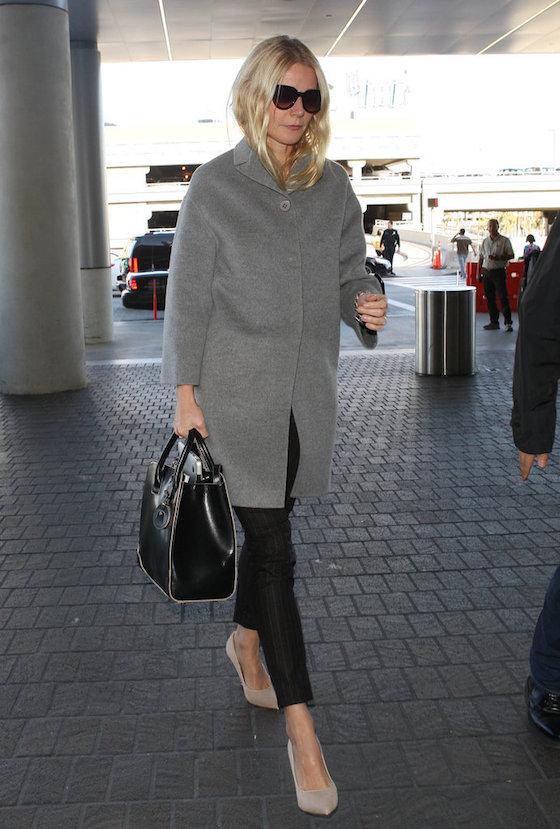 Gwyneth-Paltrow Airport Look